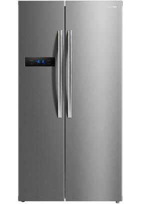 Panasonic Side By Side Refrigerator 18 FT , 527L Silver , NR-BS60MSSA
