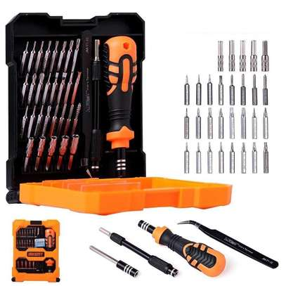 Jakemy JM-8160, Precision Screw Driver Set with Flexible Shaft and Socket, 33 in 1 Tools Kit, Pack of 1 image 1
