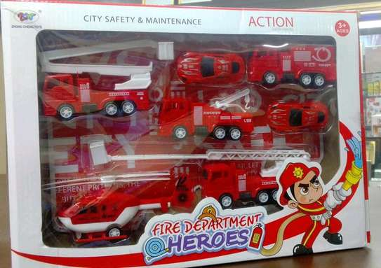 Fire department Toy set image 1