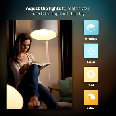 Philips Hue White and Colour Ambience GU10 Dimmable LED Smart Spot Light image 6