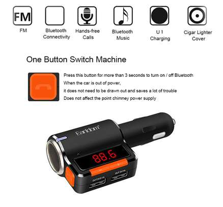 Bluetooth Car Charger & Modulator image 1