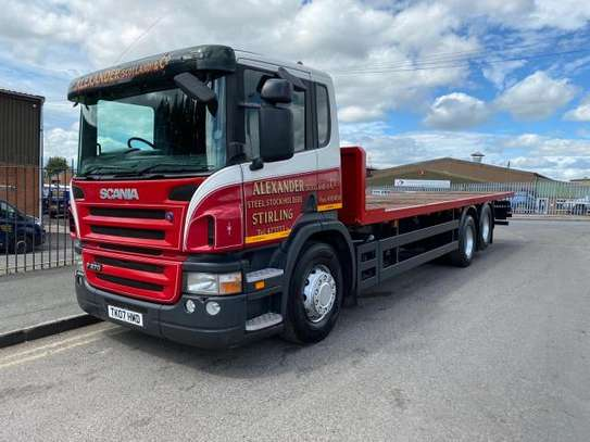 2007 Scania P270 6X2 FLATBED REAR LIFT
