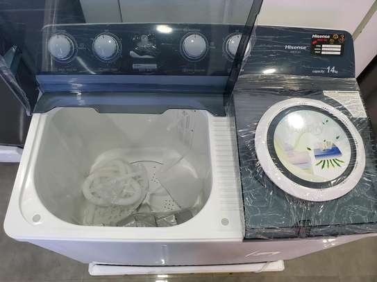 Hisense washing machine 14kg image 2