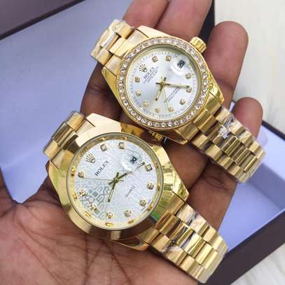 Couple watches Rolex