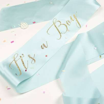 Baby Shower Sash