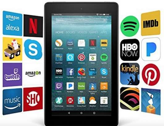 """FIRE7 - Amazon Fire 7 Tablet with Alexa, 7"""" Display, 8 GB, Black image 1"""