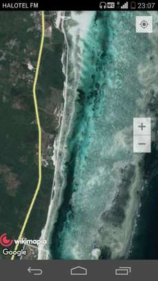 12,000 sqms SEAFRONT PLOT FOR RENT IN ZANZIBAR Y