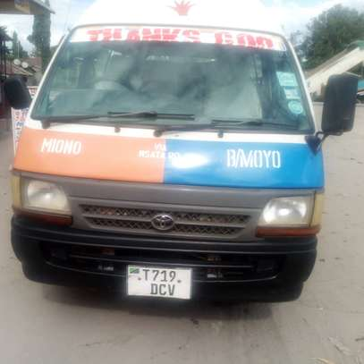 1996 Toyota Hiace Carrier