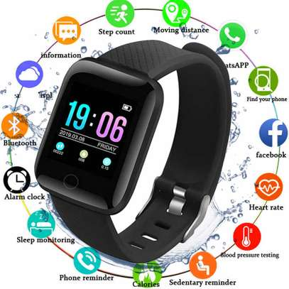Smart bracelet id116plus image 1