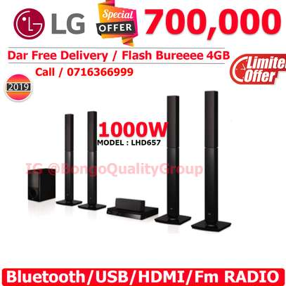 LHD657 1000W 5.1Ch DVD Home Theatre System image 1