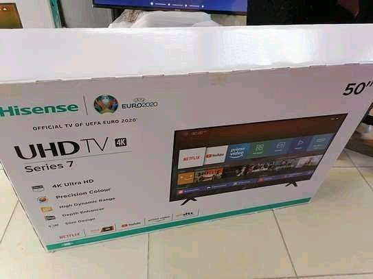 50 inch hisense uhd smart  led TV...1,150,000/= image 1