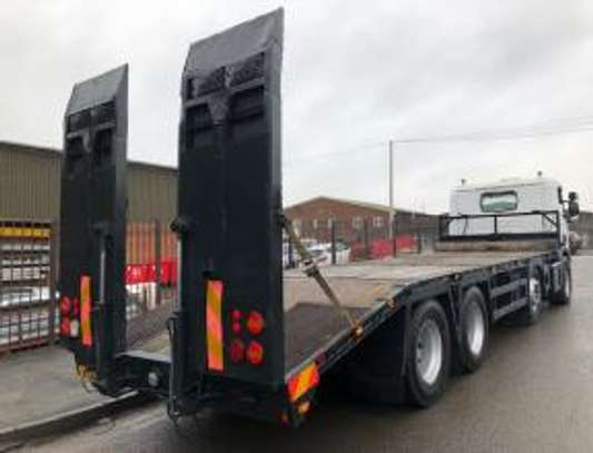 2000 Scania 114 340 8X2 FLATBED  TSHS92MILLION ON THE ROAD image 10