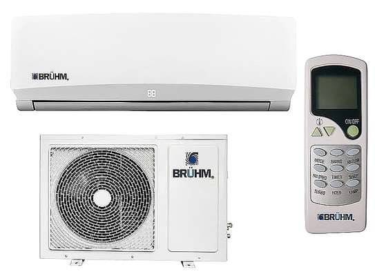 AIR CONDITIONING  BRUHM WARRANTY  5YEARS