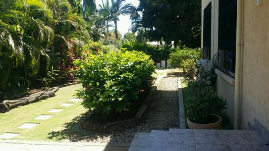 a standalone fully furnished house is for rent at mbezi beach road to whitesands image 2