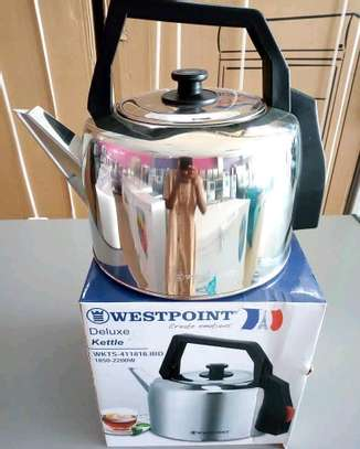Westpoint Stainless Steel Electric Kettle..105,000/= image 1