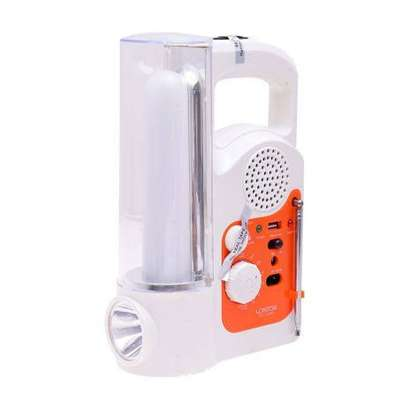 Lontor Rechargeable Lantern With FM Radio And Usb Output image 3