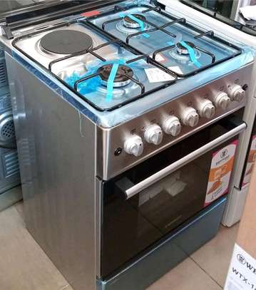 Gas cooker WESTPOINT  ,3 gas plate +1 electric plate