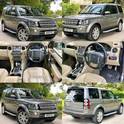 DISCOVERY 04  YEAR 2011 Cc 2990 Km 68000 DIESEL ENGINE LEATHER SEATS INTERIOR 7 SEATS  AUTOMATIC TRANSMISSION PRICE 90M image 2