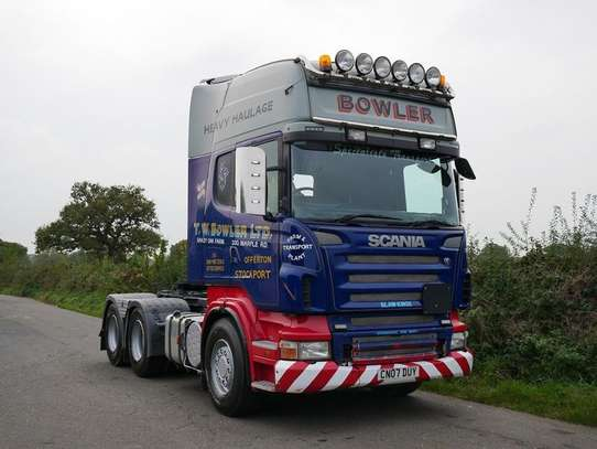 2007 Scania R480 Tractor Unit image 4