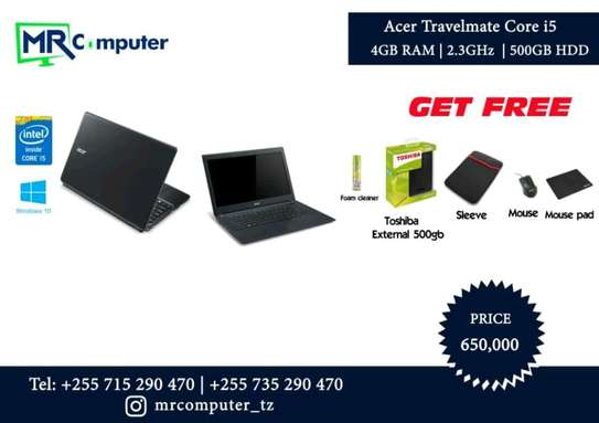 acer travelmate core i5 for offer