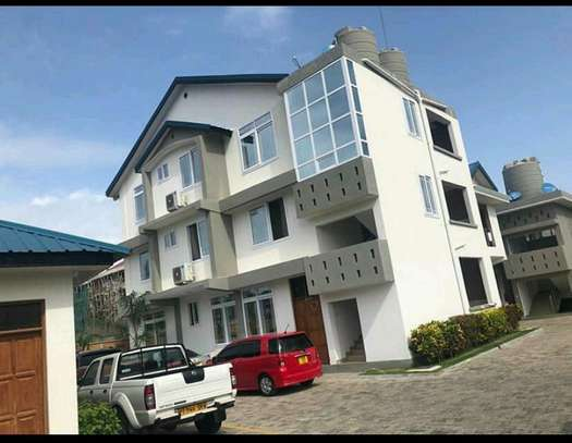 1 bedroom selfcontained,living room and open kitchen i for rent at mbezi beach image 1