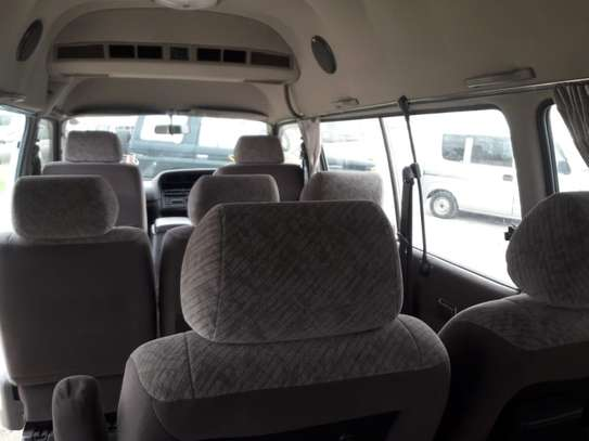 1996 Toyota HIACE DIESEL AUTO USD 6500 UP TO DAR PORT TSHS 24MILLION ON THE ROAD image 7