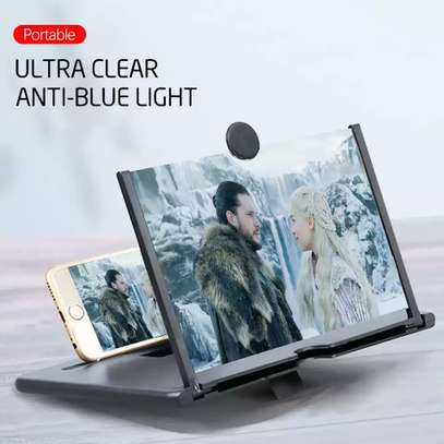 12 Inch 3D Screen Amplifier Portable Mobile Phone Magnifying Glass HD Stand Eyes Protection Holder For Video Folding Screen Enlarged image 6
