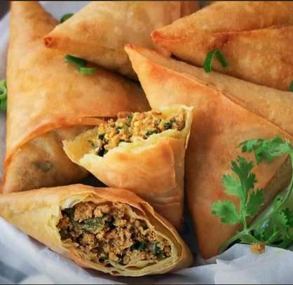 Mushrooms Samosa image 1
