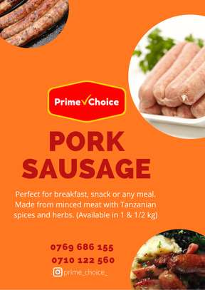 Pork Sausages for Sale image 1