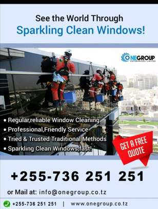 Window/Glass cleaning services image 4