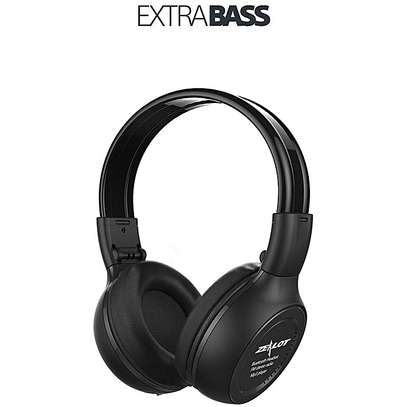 Super Bass High quality headphones with bluetooth, radio, mp3 player and LCD display free delivery dsm image 6