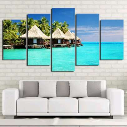 MODERN WALL CANVAS PAINTING image 2
