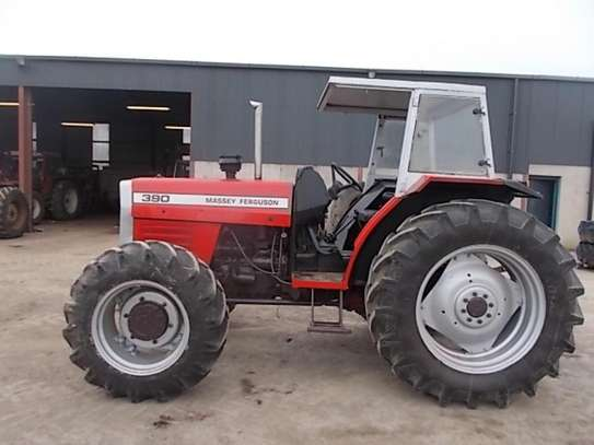 1995 Massey ferguson 375 4X4 81HP TSHS 37MILLION ON THE ROAD image 5