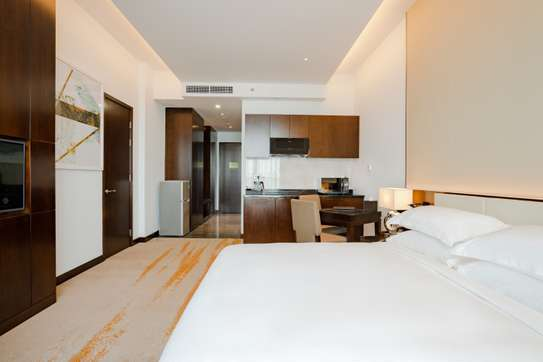 Luxury Studio Apartment at Johari Rotana Hotel