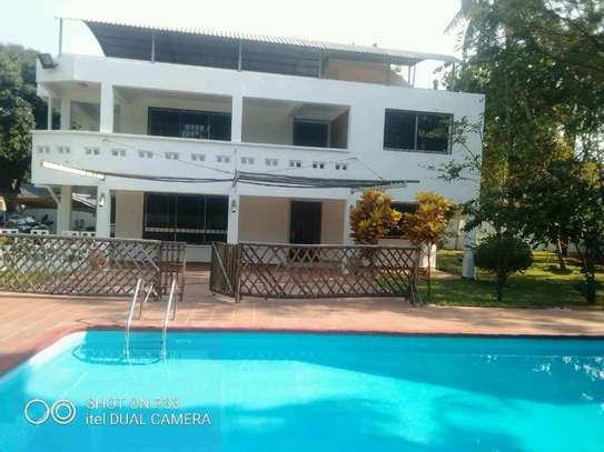 a stand alone mansion is for rent at mbezi beach near mediteranian hotel street very cool neighbour hood image 4
