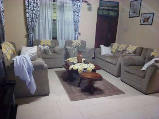 3bed furnished all ensuet house in the compound at new mikocheni $500pm image 7