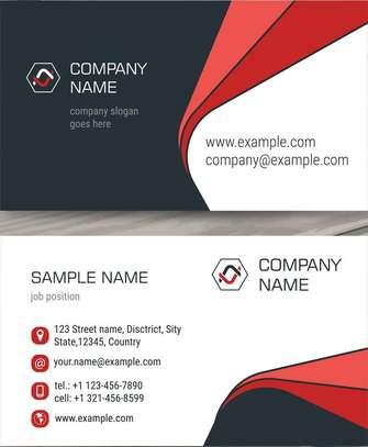 BUSINESS CARD PRITING image 1