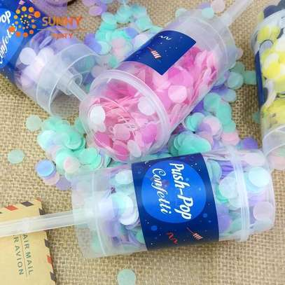Push-Pop Confetti Poppers
