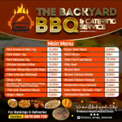 THE BACKYARD BBQ & CATERING SERVICES