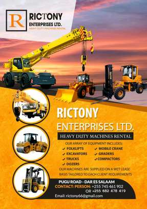 Rictony Machinery Rental