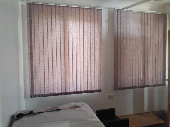 Purple Vertical Blinds for Office image 1