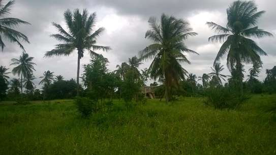 Plot near the beach at Mbutu kigamboni