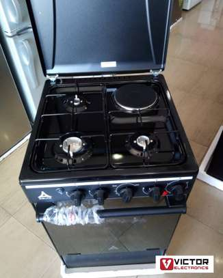 DELTA 3 GAS + 1 ELECTRIC COOKER 50x55