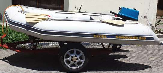 **EXCEL VANGUARD XHD335 INFLATABLE BOAT FOR SALE** image 1