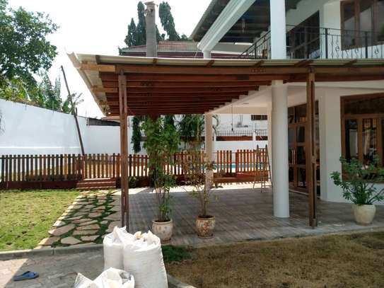 4bed house  at msasani  nice swimming pool image 4