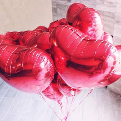 Heart Shaped balloons image 1
