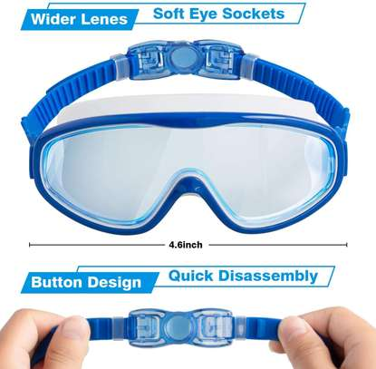 2-PACK Kids Swimming Goggles image 2
