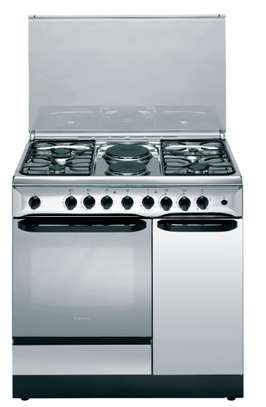 Ariston C911 N1 (X)/S 4 Gas + 2 Electric Combination Cooker - Stainless Steel image 1