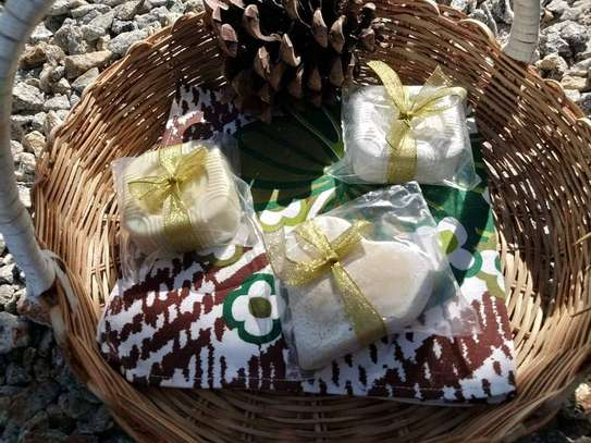 100% Natural Olive oil soaps and Turmeric soap image 2