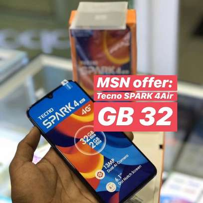 Tecno SPARK 4Air GB32 Full box (OFA)